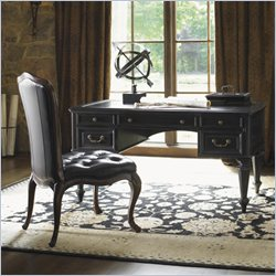 Sligh Breckenridge Castle Pines Desk in Weathered Black