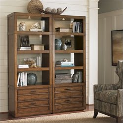 Sligh Longboat Key Crystal Sands Wall Bookcase