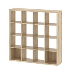 Tvilum Hamilton 16 Shelf Bookcase in Oak Structure