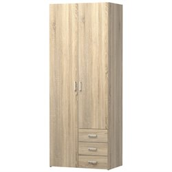 Tvilum Space 3 Drawer and 2 Door Wardrobe