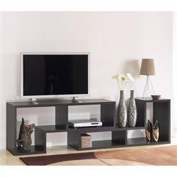 Tvilum Stewart Bookcase TV Stand in Coffee