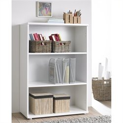 Tvilum Cullen Short Bookcase in White