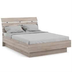 Tvilum Scottsdale Platform Bed in Truffle - Full Size