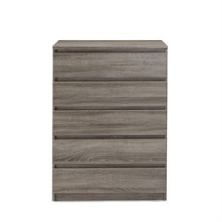 Tvilum Scottsdale 5 Drawer Chest in Truffle