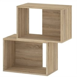 Tvilum Baja Stackable Bookcase in Oak Structure