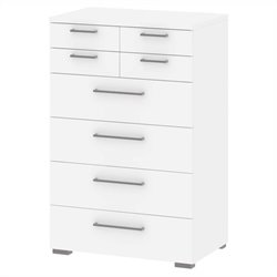 Tvilum Aria 8 Drawer Chest in White