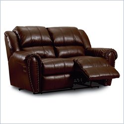 Lane Furniture Summerlin Double Reclining Loveseat in Tri-Tone Brown