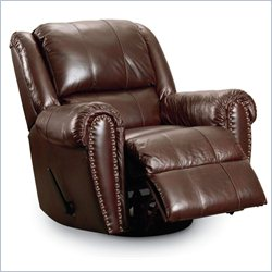 Lane Furniture Summerlin Power Glider Recliner in Tri-Tone Brown