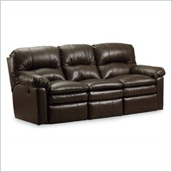 Lane Furniture Touchdown Power Double Reclining Sofa in Savage Cocoa