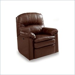 Lane Furniture Touchdown Power Rocker Recliner in Savage Cocoa