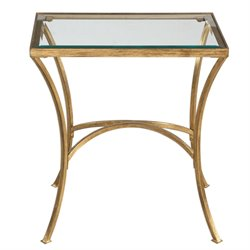 Uttermost Alayna End Table in Gold