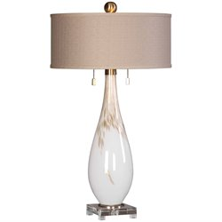 Uttermost Cardoni Table Lamp in White