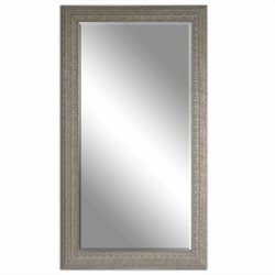 Uttermost Malika Champagne Mirror in Antique Silver