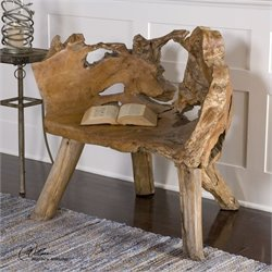Uttermost Teak Root Chair in Teak Wood