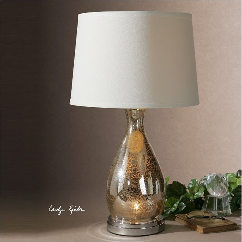 Uttermost Sardinia Silver Table Lamp
