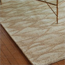 Uttermost Berkane Wool Rug in Beige - 5 ft X 8 ft