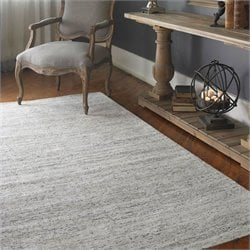 Uttermost Dacian Viscose Rug in White