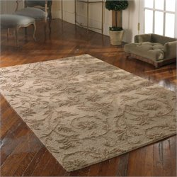 Uttermost Licata Wool Rug in Desert Sand - 5 ft X 8 ft