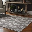 Uttermost Saint George Wool Rug in Mushroom Brown and Off White