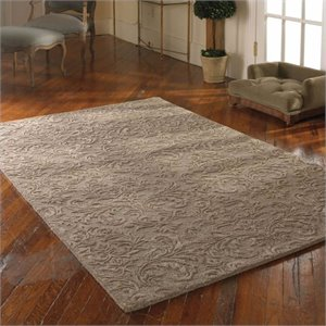 Uttermost St. Petersburg Wool Rug in Dove Gray