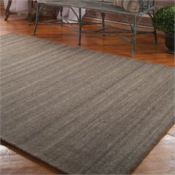 Uttermost Wellington Rug in Taupe Gray - 5 ft X 8 ft