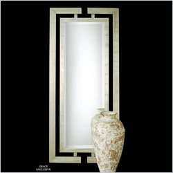 Uttermost Jamal Mirror in Scratched Silver