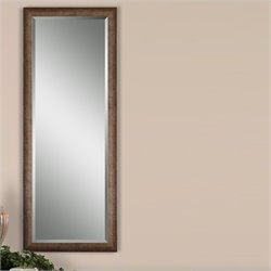 Uttermost Lawrence Mirror in Antique Silver