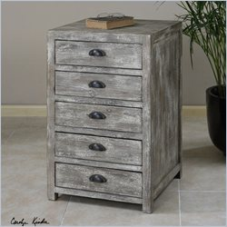 Uttermost Cranston Stonewashed Patina Document