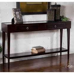 Uttermost Antero Console Table in Espresso