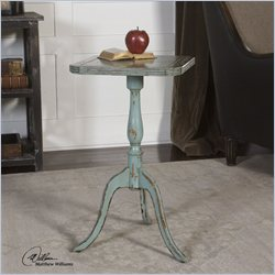 Uttermost Valent Accent Table in Blue