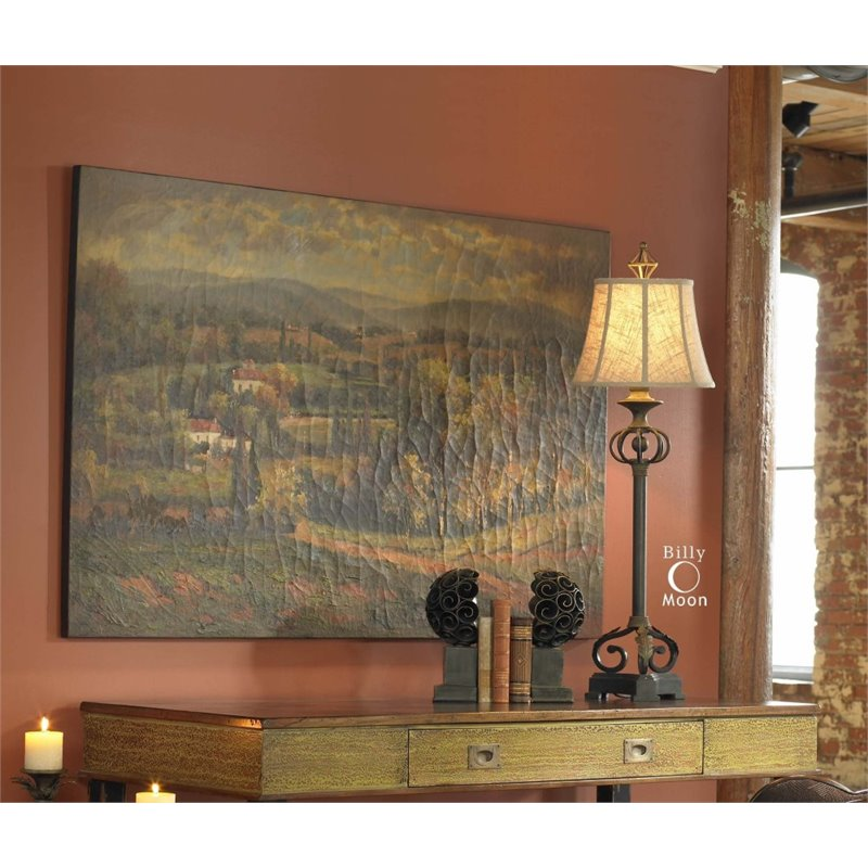 Superbe Uttermost Scenic Vista Canvas Wall Art