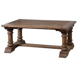 Uttermost Saturia Coffee Table in Wood