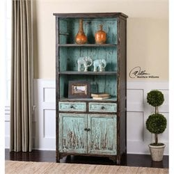 Uttermost Dunixi Distressed Bookcase