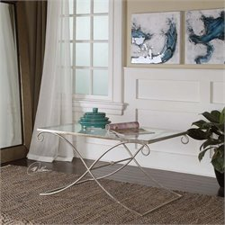 Uttermost Lamani Glass Coffee Table
