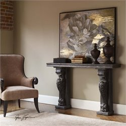 Uttermost Liem Aged Console Table