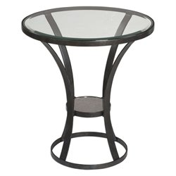 Uttermost Tomasso Accent Table in Iron
