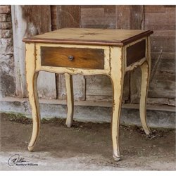 Uttermost Ruggerio Wooden End Table