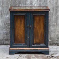 Uttermost Agacio Wooden Bar Cabinet