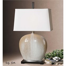 Uttermost Baycliff Beige Ceramic Table Lamp