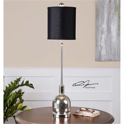 Uttermost Brusson Polished Nickel Buffet Lamp