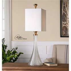 Uttermost Ballina Fluted Glass Table Lamp