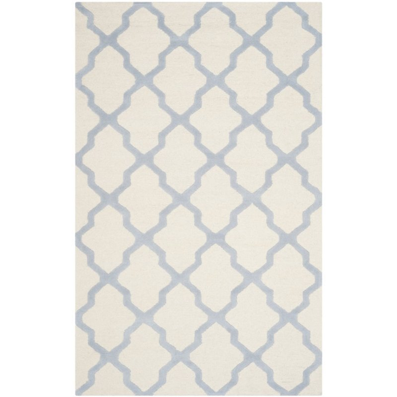 Safavieh Cambridge 4' X 6' Hand Tufted Wool Rug
