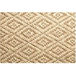 Safavieh Diamond 2' X 8' Power Loomed Rug in Natural