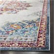Safavieh Aria 9' x 12' Rug in Ivory and Navy