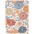 Safavieh Cabana 8' x 10' Rug in Creme and Red