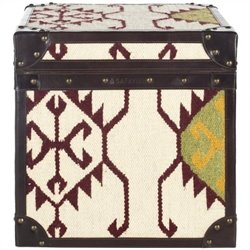 Safavieh Jackpot Assorted Color Square Trunk in Beige