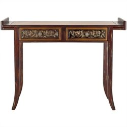 Safavieh Kasey Wood Console Table in Brown