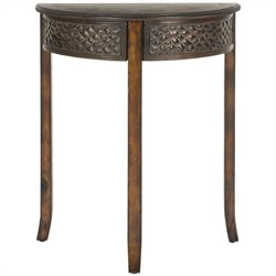 Safavieh Earl Birch Wood Console in Vintage