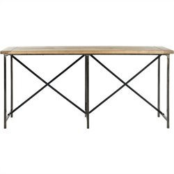 Safavieh Simon Fir Wood Console