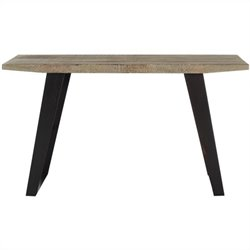 Safavieh Waldo Fir Wood Console in Natural Color and Black